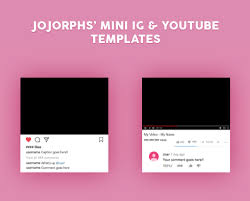 Youtube Template Psd Youtube Template Tumblr