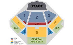 Jacobs Pavilion Seating Chart Virginia Beach Amphitheater Online Charts Collection