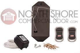 genie garage door opener girud 2t receiver 2 remotes and transformer