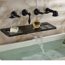 26 luxury wall mount bathtub faucet with hand shower photograph