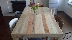 diy pallet outdoor dinning table. upcycled pallet dining table recycled wooden diy outdoor dinning