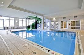 indoor pool and hot tub with a slide. Fairfield Inn \u0026 Suites Guelph: Saltwater Indoor Pool/Hot Tub/Waterslide Pool And Hot Tub With A Slide R