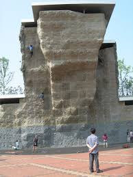 photo of ttukseom climbing wall on rock climbing artificial wall with photo ttukseom climbing wall seoul artificial walls korea on