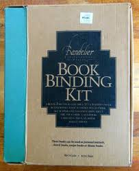 Personal Journals For Sale New Bandelier Book Binding Kit Makes 2 Books Journal Diary Hardcover W Fabric