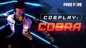 Cobra Free Fire: cosplay baru untuk ...