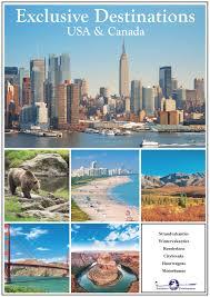 Reisbrochure Usa Canada Exclusive Destinations Exclusive Destinations