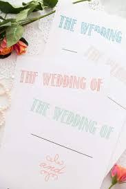 Printable Wedding Planner 30 Page Wedding Planning Printable Set Bread Booze Bacon