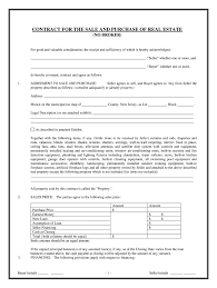 House Contract Form Nj Real Estate Contract Fill Online Printable Fillable