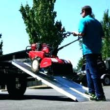 Lawn Mower Truck Ramps Ramp System Lawn Mower Use Pickup Truck Ramps ...