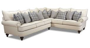 Shabby Chic Sectional Sofaklaussner | Wolf And Gardiner Wolf within Shabby  Chic Sectional Sofas (Image