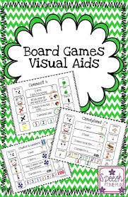17 best ideas about visual aids self registration speech time fun board games visual aids for popular board games