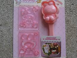 My Melody Rice Mould + Multipurpose Cutters