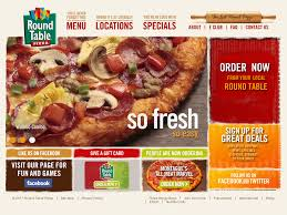 round table pizza website history