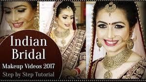 north indian bridal makeup tutorial v