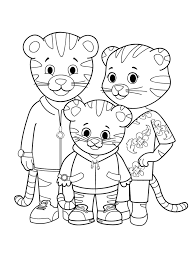 Small Picture daniel tiger coloring sheets PICT 17977 Gianfredanet