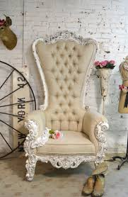 cloth chairs furniture. Painted Cottage Chic Shabby French Tufted Upholstered Chair Cloth Chairs Furniture