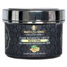 roots herbs neem fennel with hair removal ubtan 70gm