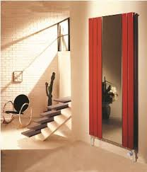 mirror radiator. warmth and comfort with a full length mirror to enhance its elegance, the roda is an asset any home. radiator