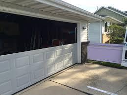 expert repair and installation for broken garage door panels
