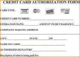 credit card authorization form templates awesome hilton chicago washington 1920