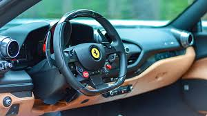 Ferrari westlake is excited to present this stunning blu pozzi 2018 488 spider with the very tasteful cuoio interior, blue interior details and daytona style racing seats in large. 2020 Ferrari F8 Tributo Base 2dr Coupe Pricing And Options