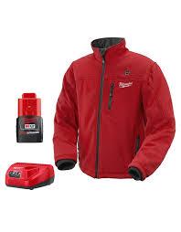 Milwaukee Heated Jacket Light Colors Milwaukee 2331 2x M12 Cordless 12 Volt Cordless Lithium Ion Red Heated Jacket Kit