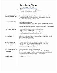 Word Format Resume Free Download Lovely Download For Job Resume