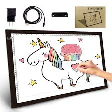 A3 Led Tracing Light Box Tracer Usb Power 045cm Thin Portable 3 Level Brightness Eye Protected Pad Board Digital Gifts For Kids