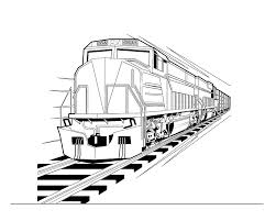 The coloring page is printable and can be used in the classroom or at home. Pictures Of Trains To Colour Coloring Home