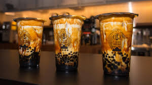 Taiwans Tiger Sugar Popular For Its Brown Sugar Boba Fresh Milk