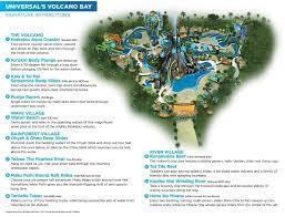 Map Of Universals Volcano Bay Volcano Bay Volcano