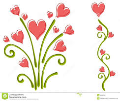 Pictures Of Hearts And Flowers Free Clipart Hearts And Flowers Clipart Station