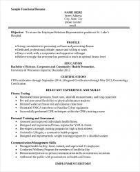 Personal Trainer Resume Template Beauteous Free Download Sample 28 Personal Trainer Resume Templates Pdf Doc