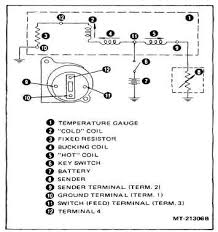 water temp gauge wiring diagram water image wiring figure 19 water temperature gauge circuit diagram on water temp gauge wiring diagram