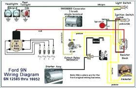 ford 9n wiring schematic freddryer co 9N Ford Tractor 12 Volt Wiring Diagram wiring ford 9n wiring schematic at freddryer co