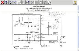 1990 ford ranger charging system after 1990 F250 Alternator Wiring Diagram Ford 1G Alternator Wiring Diagram