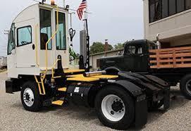 terminal tractors yard trucks autocar heavy duty trucks easy ingress egress