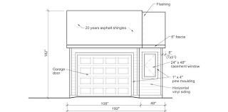 Single Garage Doors Sizes Double Car Garage Door Width Charming On