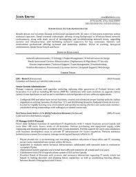 System Administrator Resume Example | Nfcnbarroom.com