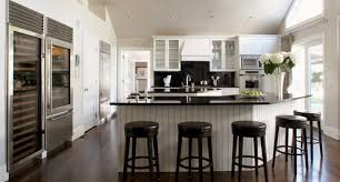V Shaped Kitchen Island Design With Sink