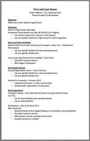 High School Student Resume Example Resume Template Builder 7Ypvaryf ...