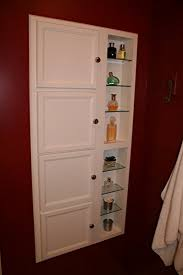 Amazon.com: (SS-1) Recessed in wall storage cabinet, Solid wood ...