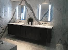 Lighted Bathroom Vanity Mirrors Velvet Built in Wall Shelves ...