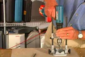 how to use a portable drill press to drill accurately diy projects s
