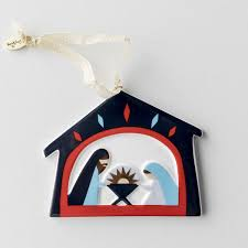 glory to porcelain ornament
