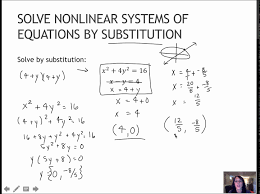 115 solve nar systems of equations by substitution 5 4