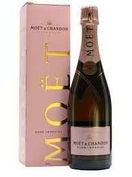 moet chandon rose imperial nv chagne gift box