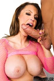 Busty Jenna Presley with Big Naturals from Hustler Wearing Pink.