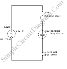 simple ac light bulb flasher circuit wiring diagrams simple ac light bulb flasher