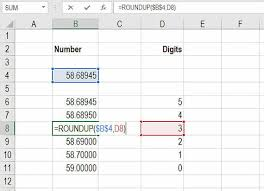 Excel Round Formulas Excel Roundup Formula To Round Up Numbers In Excel